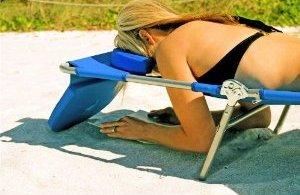 Ostrich beach chaise