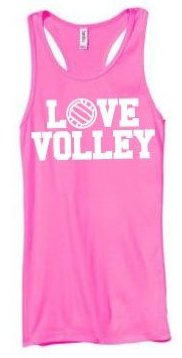 Love Volley Tank Top