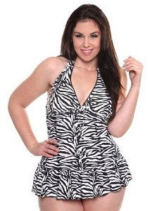 Torrid Zebra Swimsuit