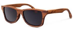 Shwood Zebrawood Canby Sunglasses