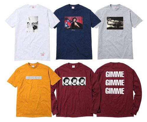 Supreme Capsule Collection T-Shirts