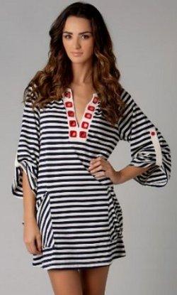 Nanette Lepore Riviera Stripe Tunic