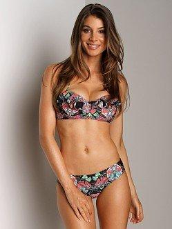 Mara Hoffman Ruffle Bustier Bikini