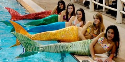 3-Fins Mermaid Swimsuits